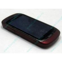 Красно-розовый телефон Alcatel One Touch 818 (Кашира)